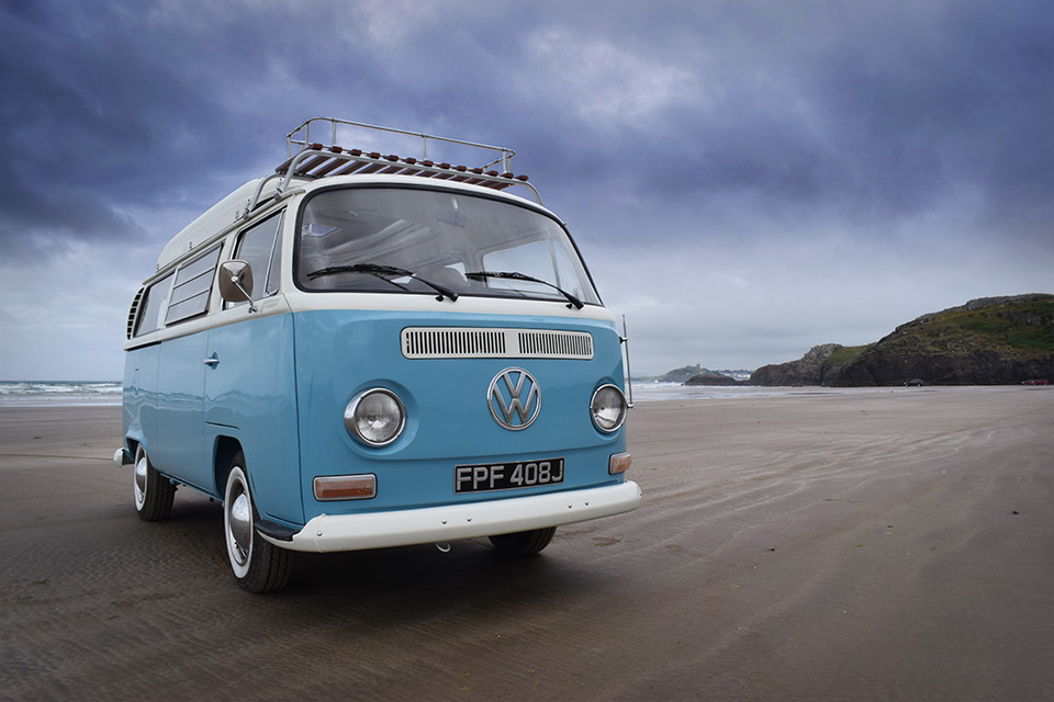 Lola our VW campervan availbable for hire